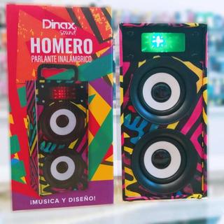 Parlante Bluetooth Homero Dinax