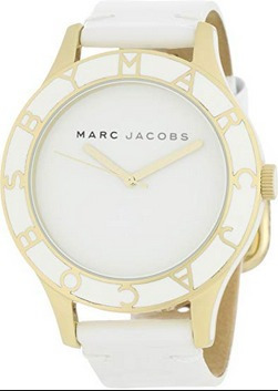 Reloj Marc Jacobs Dama Color Blanco Con Dorado