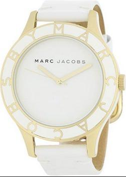 Reloj Marc Jacobs Dama Color Blanco Con Dorado