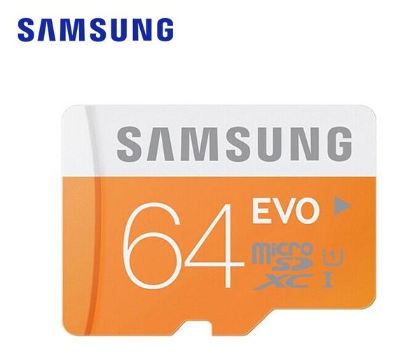 Cartão De Memória Samsung Micro Sd 64g Tf