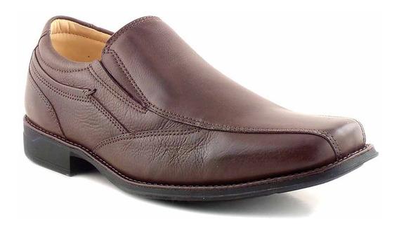 Zapato Cuero Hombre Anatomico Clasico Base Goma Hccz01091