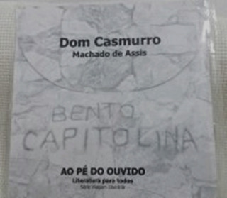 Dom Casmurro Bento Capitolina Cd Áudio-livro