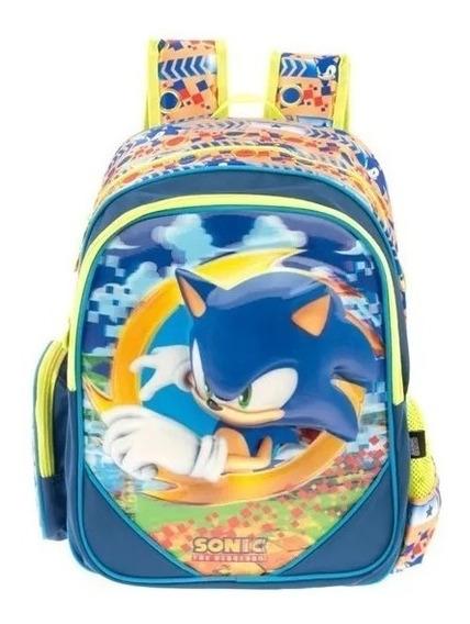 Mochila Sonic Primaria Backpack Tz599