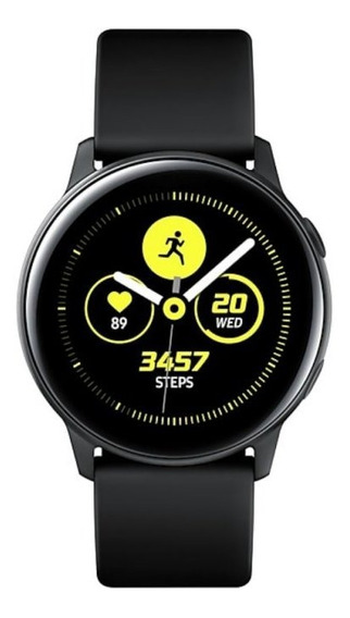 Smartwatch Samsung Galaxy Watch Active Preto Com Monitorame