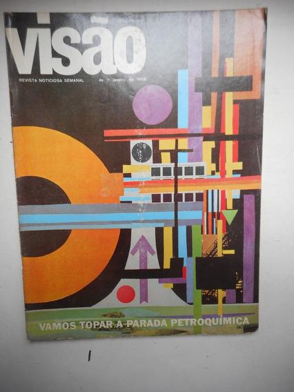 Revista Visão - Jan/1966 - Petroquímica, Política, Economia