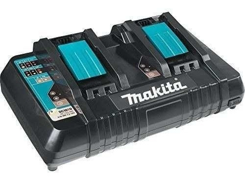 Carregador Duplo De Bateria 18v Dc18rd Original Makita 127v