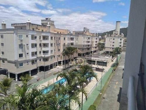 Imagem 1 de 10 de Apartamento Com 2 Dormitórios À Venda, 67 M² Por R$ 198.000,00 - Passa Vinte - Palhoça/sc - Ap2287