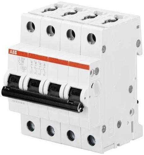 Abb 2cds254001r0164 Mini Interruptor S204-c16 Amps