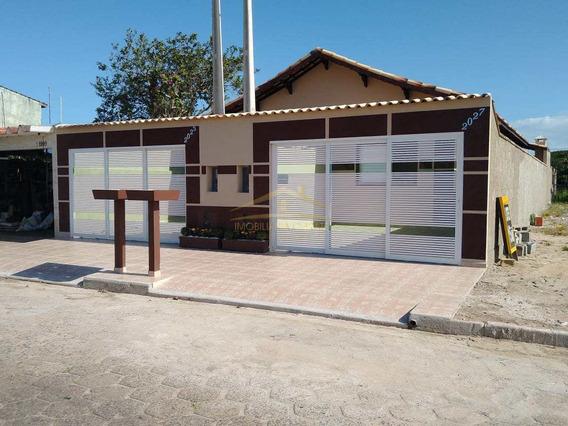 Casa Com 2 Dorms, Jardim Grandesp, Itanhaém - R$ 269 Mil, Cod: 1247 - V1247