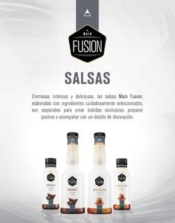 Salsas Main Fusion Cafeteria Chocolate Y Dulce De Leche