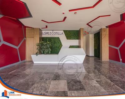 Hermoso Departamento En Venta Con Terraza En Lopez Cotilla Guadalajara