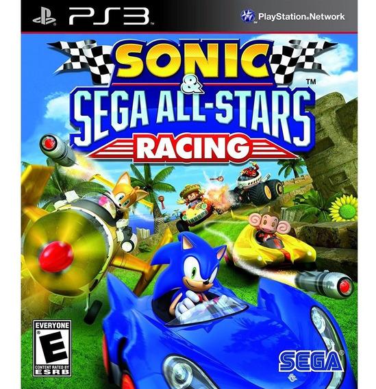Sonic & Sega All Star Racing Ps3 Mídia Física Lacrado