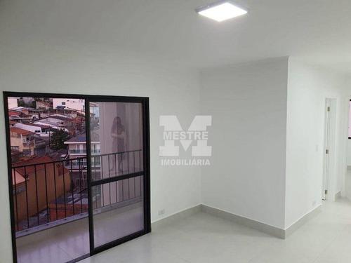 Apartamento Com 2 Dormitórios, 65 M² - Venda Por R$ 295.000,02 Ou Aluguel Por R$ 1.200,02/mês - Vila Rosália - Guarulhos/sp - Ap0922