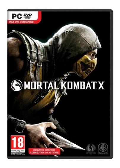 Game Pc Mortal Kombat X - Original - Novo - Lacrado