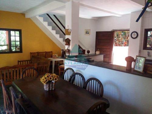 Imagem 1 de 15 de Casa Para Venda Em Ubatuba, Praia Da Lagoinha, 4 Dormitórios, 2 Suítes, 2 Banheiros - 1062_2-1195157