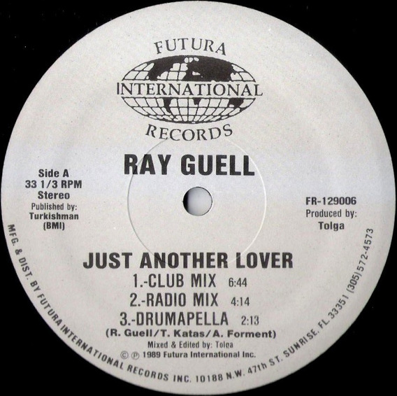 Ray Guell Just Another Lover (12