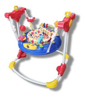 Brincolin Para Bebe Con Centro De Actividades Y Juguetes