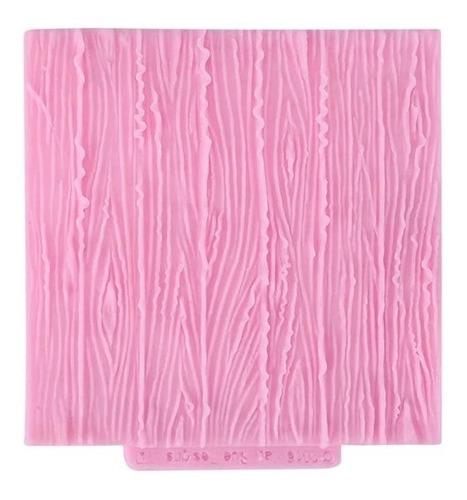 Molde De Silicone Textura Casca De Árvore Pasta Americana