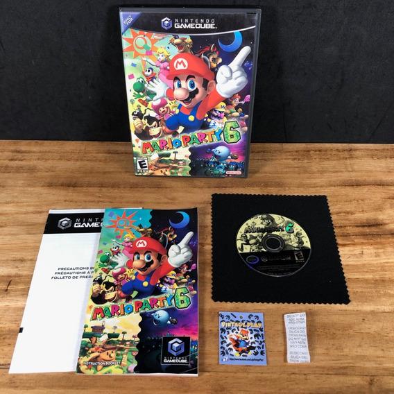 Mario Party 6 100% Original P/ Gamecube!! Raro