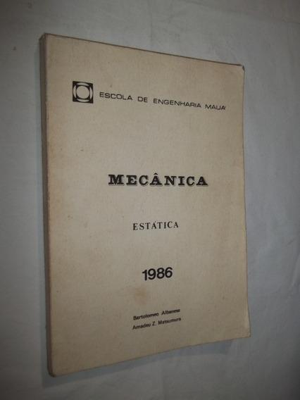 Livro - Mecânica Estática - 1986 - Engenharia Mauá