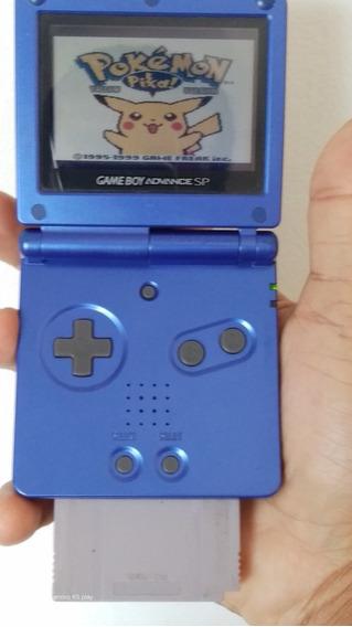 Gameboy Advance Sp + Jogo Naruto S/ Carregador