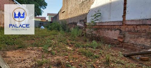 Terreno À Venda, 320 M² Por R$ 750.000,00 - Centro - Piracicaba/sp - Te0282
