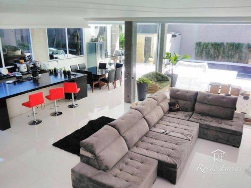 Sobrado Com 5 Dormitórios À Venda, 500 M² Por R$ 2.100.000 - Parque Dos Príncipes - São Paulo/sp - So0632