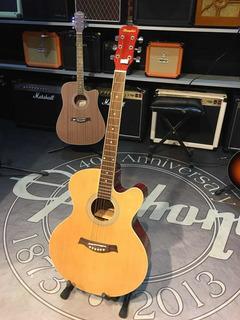Guitarra Electroacustica Memphis A 1812 Lt Cuerdas Xlr