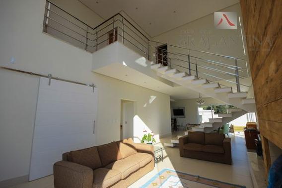 Casa De Condomínio Em Bragança Paulista - Sp - Ca0053_brgt