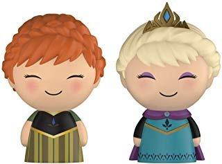 Dorbz Disney Frozen Anna & Elsa - Lote De 2 Juguetes De Vin