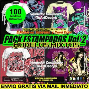 579eee3408 Estampas Para Camisetas Vetores Em en Mercado Libre México