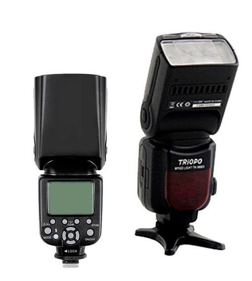 Flash Triopo Para Canon Tr-586ex - Com Ttl