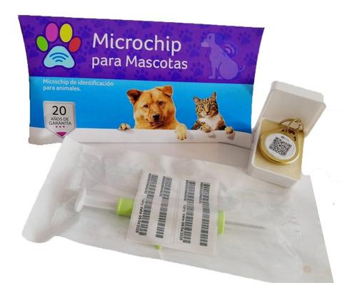 Imagen 1 de 6 de 2x - Chip Microchip Para Mascotas - Animales Pequeños- 7mm