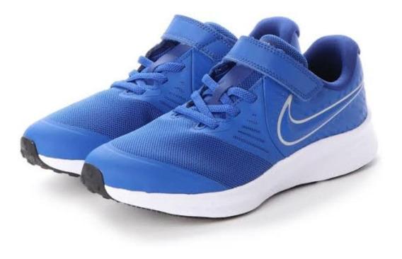 Tenis Nike Star Runner 2 Azul Niños