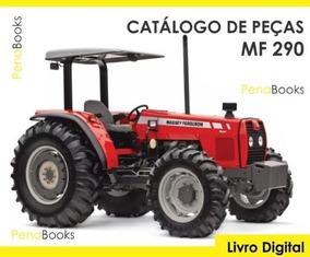 Catálogo De Peças Trator Massey Ferguson Mf 290