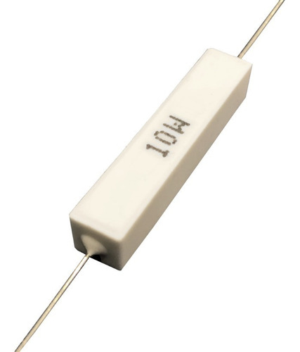 Imagem 1 de 2 de Resistor De Porcelana 0r18 10w - Caixa Com 100 Peças