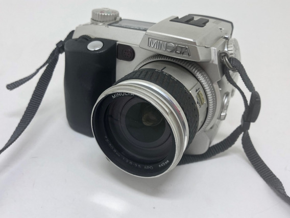 Maquina Fotográfica Minolta Dimage 7 Raridade Funcionando