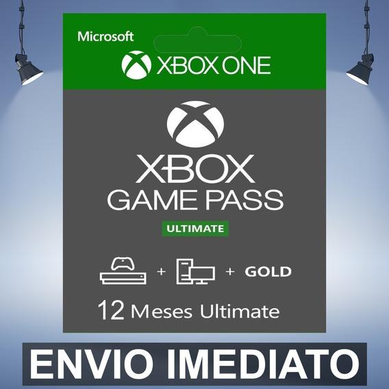 Xbox Game Pass Ultimate 12 Meses Codigo 25 Digitos Digital
