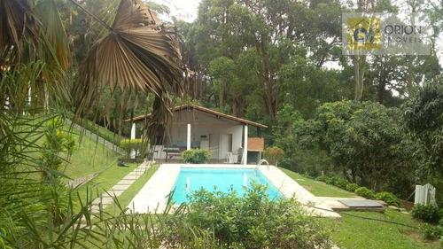 Imagem 1 de 30 de Chácara Com 4 Dormitórios À Venda, 5800 M² Por R$ 1.600.000,00 - Quintas Do Ingaí - Santana De Parnaíba/sp - Ch0056