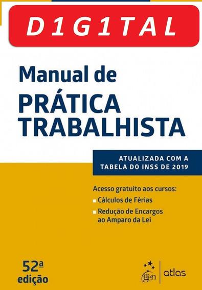 Manual De Prática Trabalhista - Aristeu De Oliveira