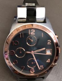 Relógio Marc Jacobs Original Cronômetro Pulseira Prata