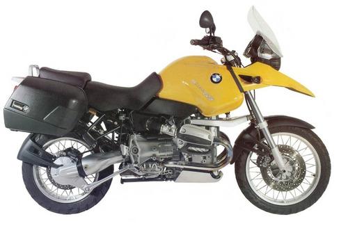 Emblema Adesivo Bmw R1150gs Amarela Par Bwf1150gs1