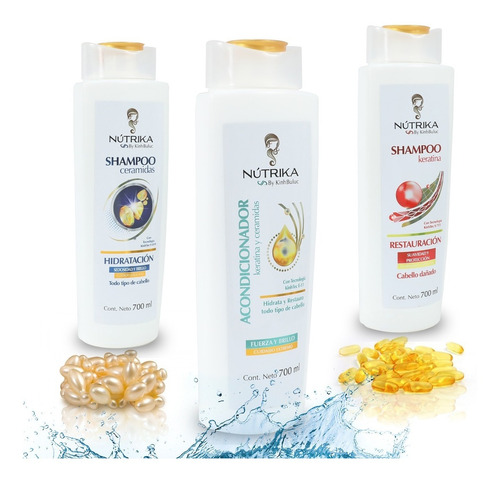 Shampoo Acondicionador Crecimiento Caida Cabello Cuidado