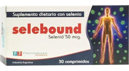 Selebound Selenio Organico  X 30 Cmprimidos