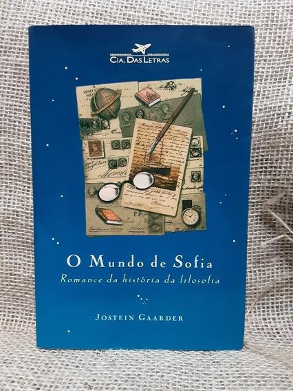 Livro O Mundo De Sofia 10ª Reimpressão 1995