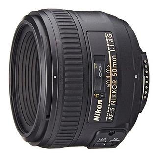 Nikon Af-nikkor 50mm S Fx Lente De F / 1,4 G Con Enfoque Au