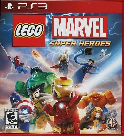 Lego Marvel Super Heroes Português Ps3 Play3 Jogo Comprar