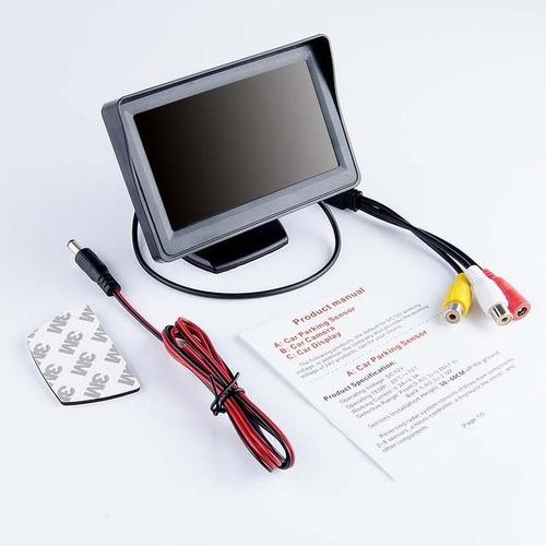 Monitor Lcd Color Tft 4.3 Pulgadas Retrovisor Retroceso Auto