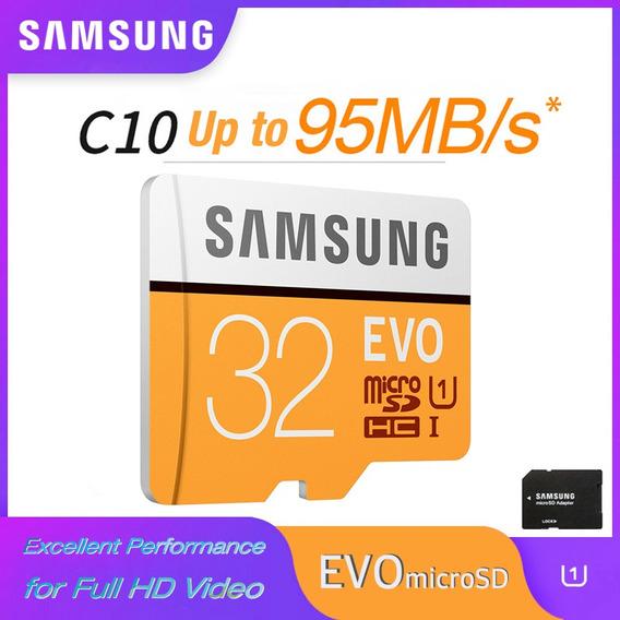 Samsung Cartão De Memória Micro Sd 32g Cartões Microsd Sdhc