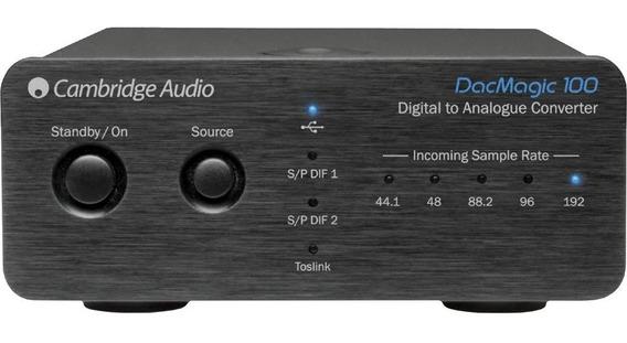 Cambridge Audio Dac Magic 100 Preto Garantia 1 Ano Nfe